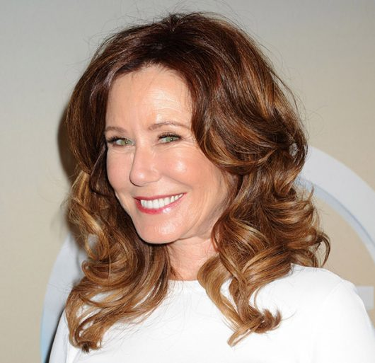 Mandatory Credit: Photo by REX/Shutterstock (3750999aq) Mary McDonnell TNT/TBS Upfront, New York, America - 14 May 2014