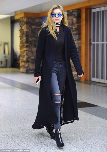 ファッションアイコン、ジジ・ハディッドの最新冬コートコーデがバリエーション豊富でどれもオシャレ!インスタ画像もあり